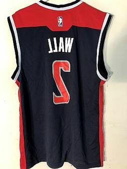 Adidas NBA Jersey Washington Wizards John Wall Navy sz L